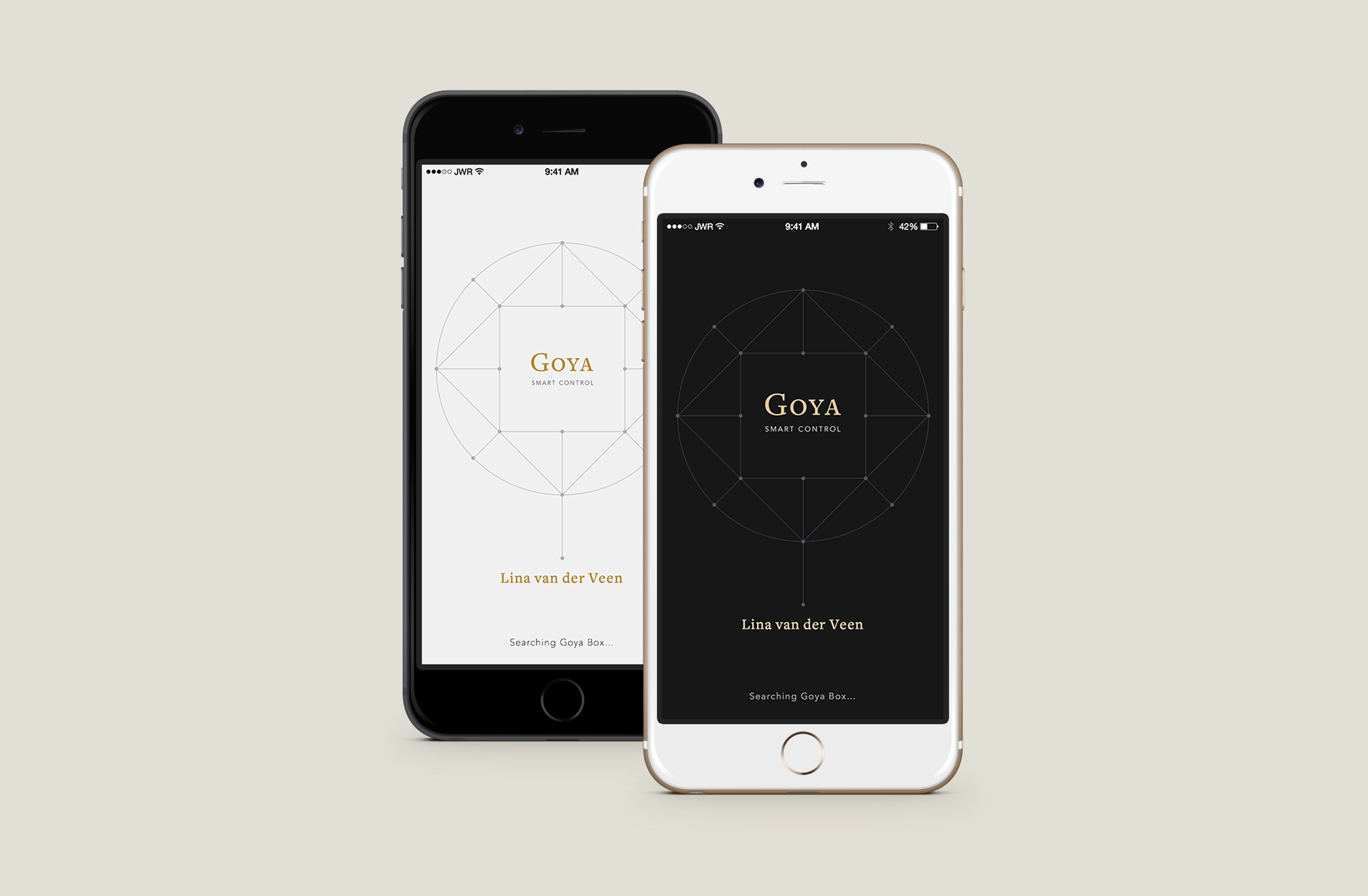 Goya App Design UX/UI Splash Screen