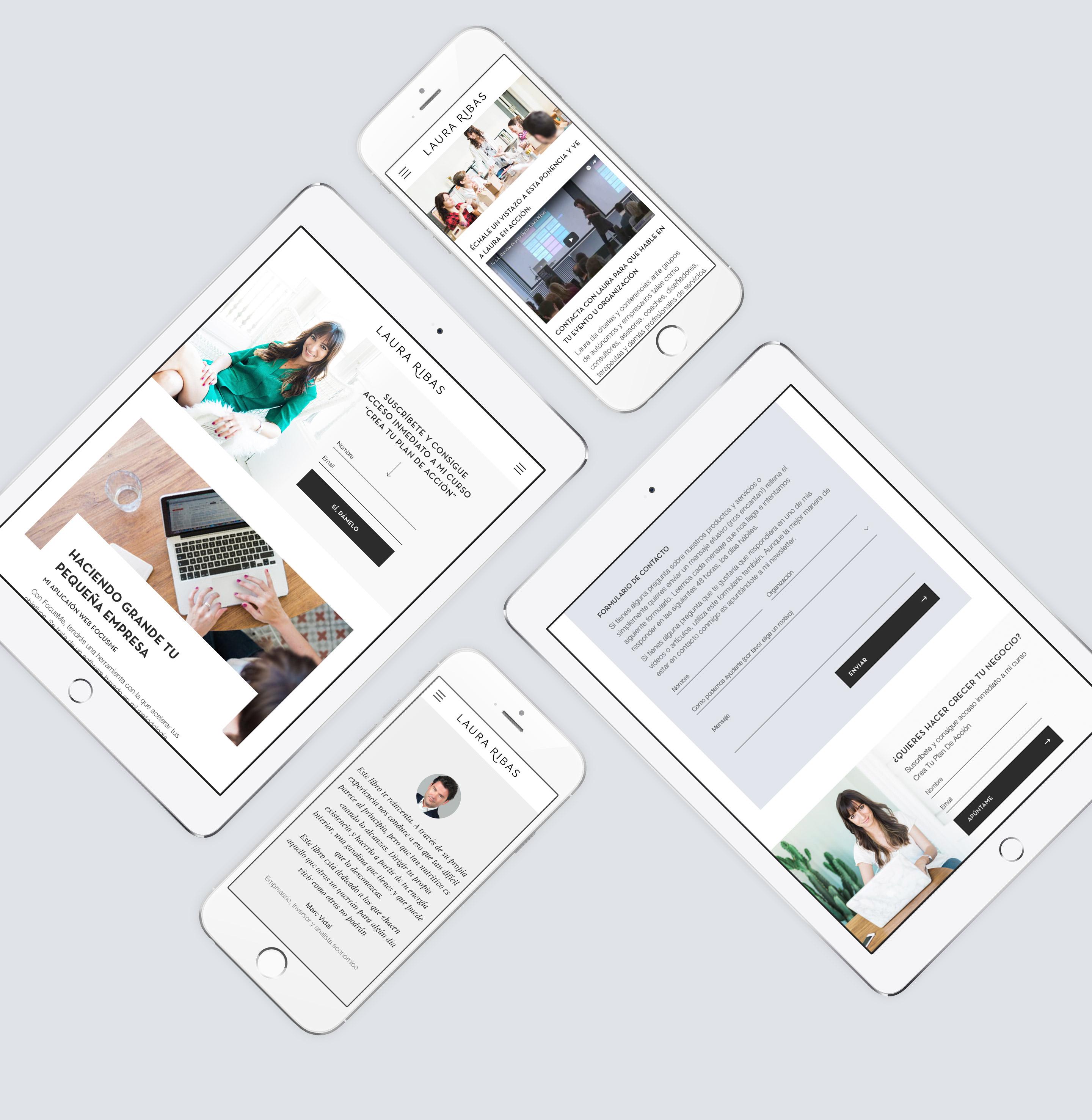 Laura Ribas Responsive Web Design