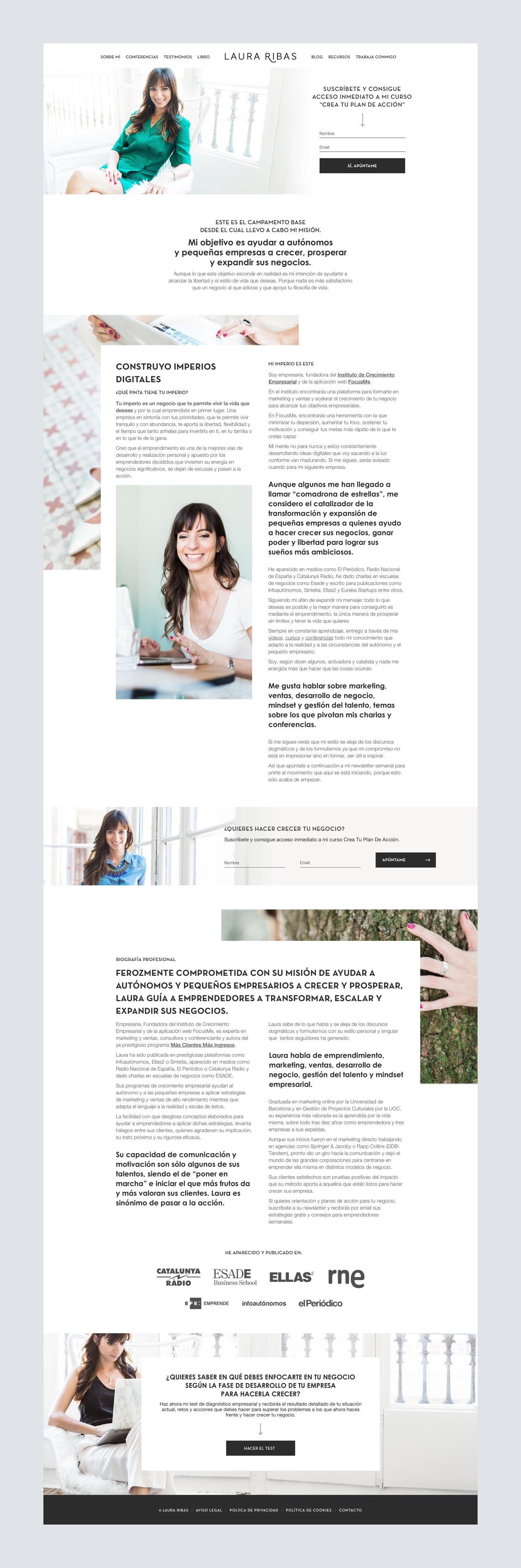 Laura Ribas Web Design Sobre Mi